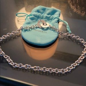 Tiffany silver choker